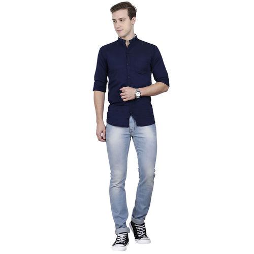 Signature slim fit twill shirt