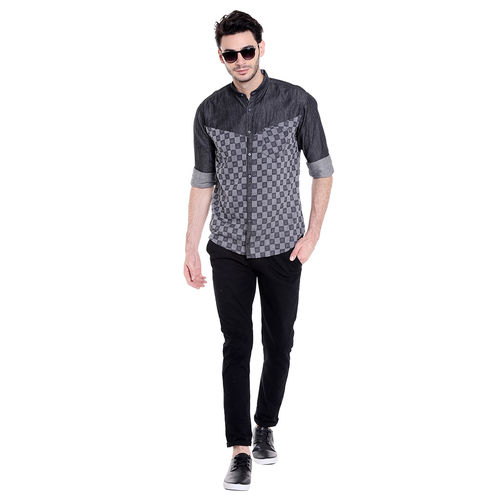 Campus Sutra Men's Casual Shirt