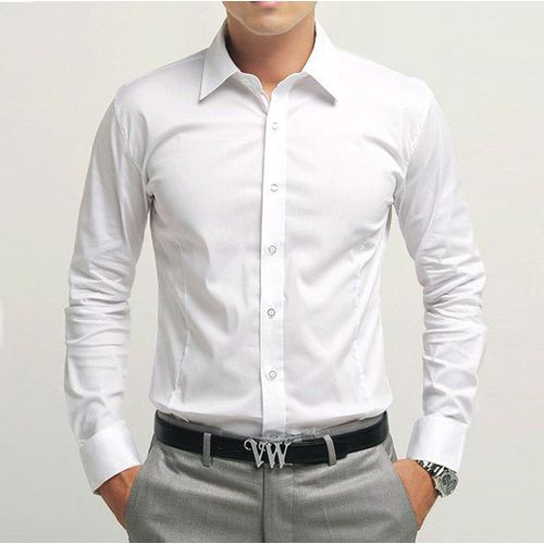 Royal Fashion Formal White Shirt For Men