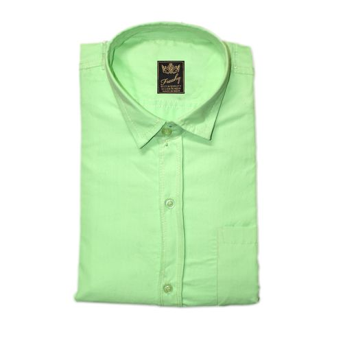 Freaky Plain Multicolor 100% Cotton Regular Collar Casual Slim Fit Shirts For Men - Pack Of 5
