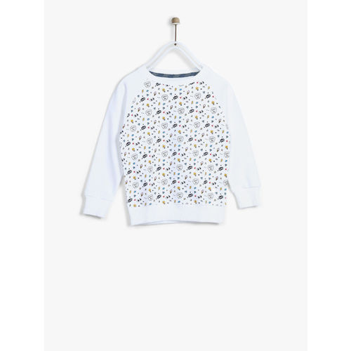 Allen Solly Junior White Sweatshirt