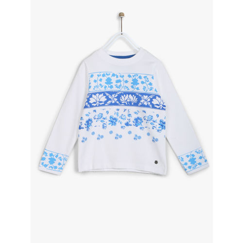 Allen Solly Junior White Sweatshirt