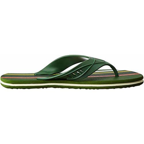 Bahamas Green Rubber Slip On Flip-Flops