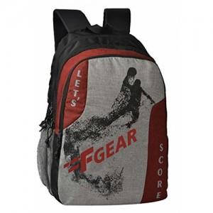 F Gear Lets Score 32 Ltrs Grey Casual Backpack (2740)