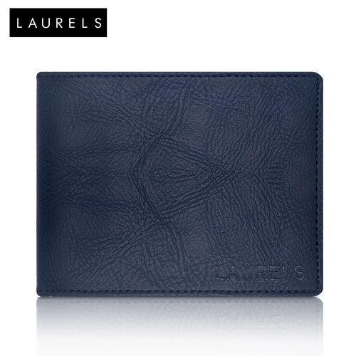 Laurels Urbane Blue Color Men'S Wallet (Lw-Urb-03) (Synthetic leather/Rexine)