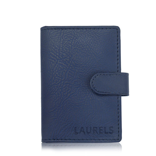 Laurels Urban Blue Color Card Holder (LWC-Urb-03) (Synthetic leather/Rexine)