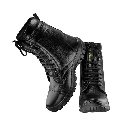 Blinder Black Indian Army Military Boots for Men