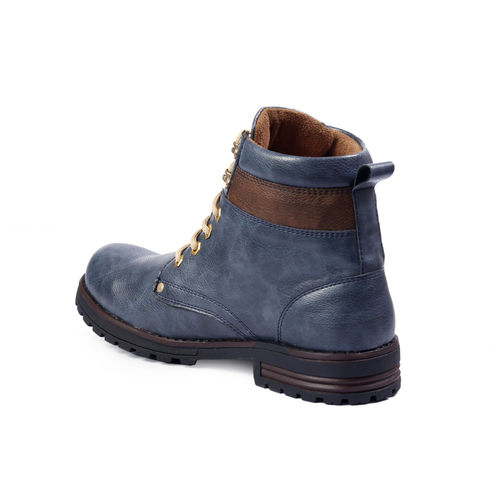 Men's Blue Stylish outdoor Boot