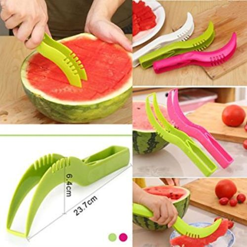 Darkpyro DarkPyro Combo Of Red Apple Cutter+Sweet Corn Cutter+Watermelon Scooper and Slicer+1 Pcs.Multi Blade Veg.Cutter