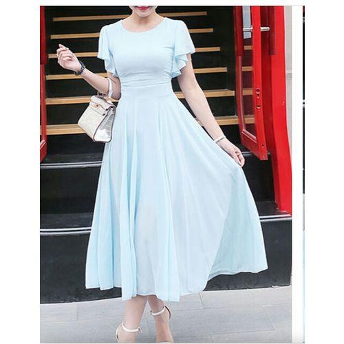 ANB-015 Westchic AZIZA Sky Blue Long Dress