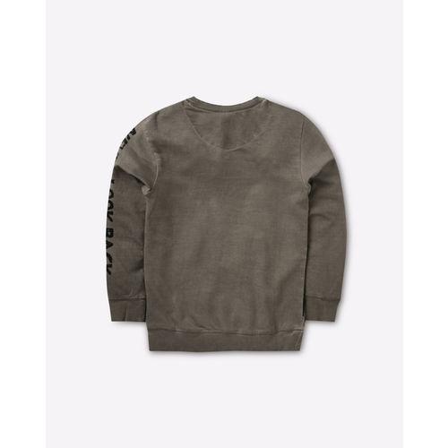 8bf02152b3f5 Buy KB TEAM SPIRIT Skull Print Crew-Neck Sweatshirt online