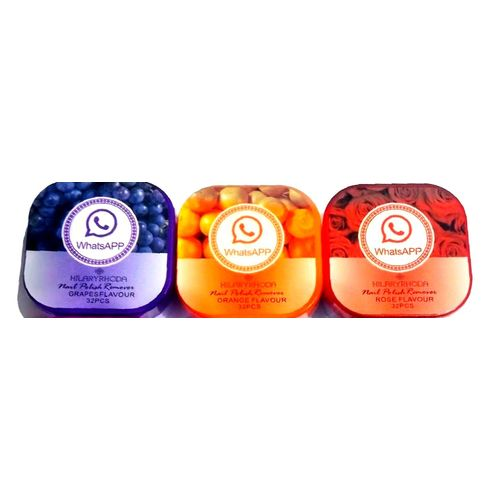 a5d92e9145a ... The Original Whatsapp Hilary Rhoda Nail Polish Remover Pads Wet Wipes 3  Pack ...