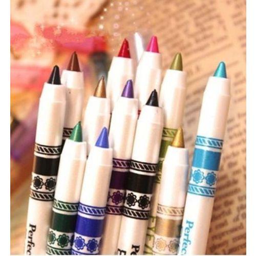 MN M.N ME Now Second Generation 12 PCS Multi Colours Eye Lip Liner Pencil FREE ADS Kajal