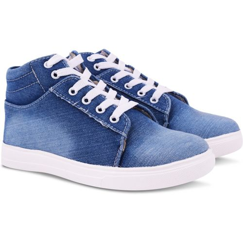 FASHIMO Sneakers For Women(Blue)