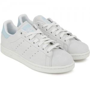 ADIDAS ORIGINALS STAN SMITH W Sneakers For Women(Grey, Blue)