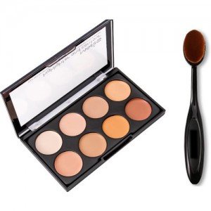 Mars mars contouring and highlighting with oval brush