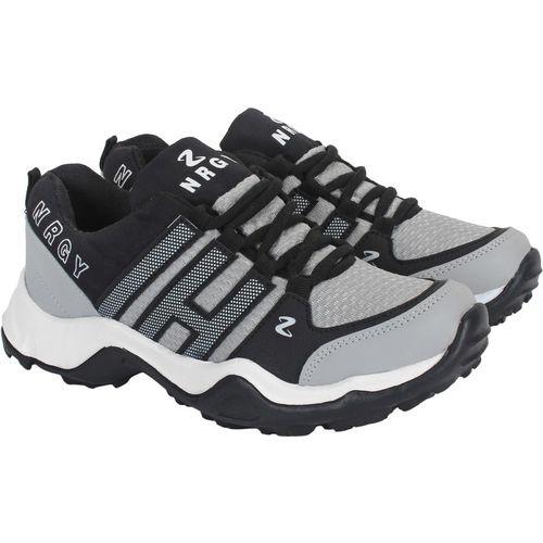 Aero Go Run Running Shoes For Men(Grey, Black)