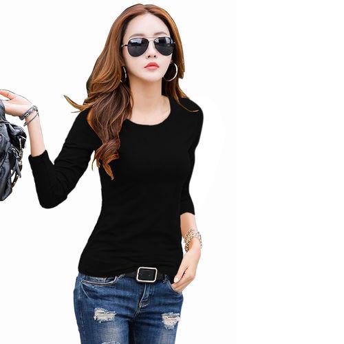 Rudra Cotton Regular Tops - Black
