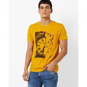 Lee Slim Fit Graphic Print Crew-Neck T-shirt