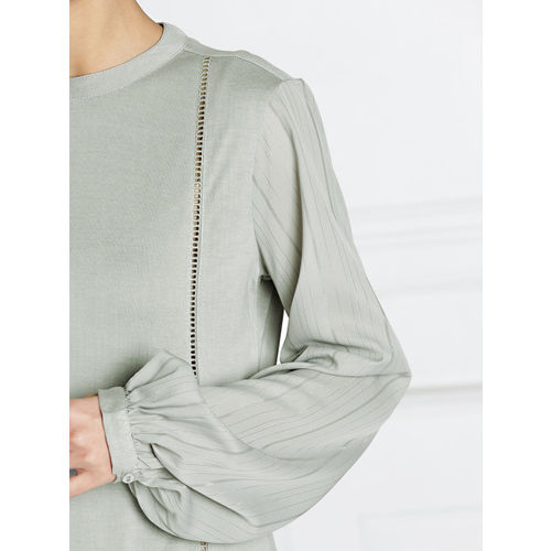 all about you from Deepika Padukone Grey Solid A-Line Dress