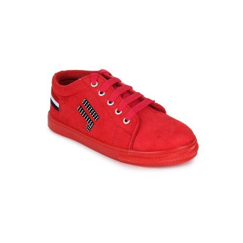 Fashtyle Women's Red Sneakers