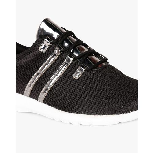 AJIO Low-Top Lace-Up Casual Shoes