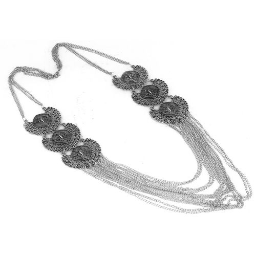 aradhya na Silver Plated Metal Necklace
