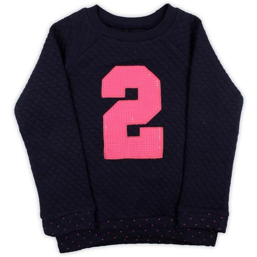 United Colors of Benetton. Full Sleeve Applique Girls Sweatshirt