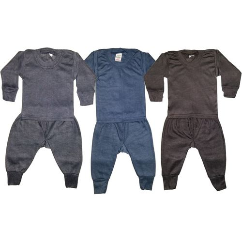Manzon Top - Pyjama Set For Boy's & Girl's(Multicolor, Pack of 3)