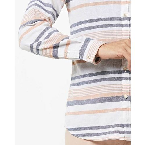 WRANGLER Striped Shirt with Patch Pocket