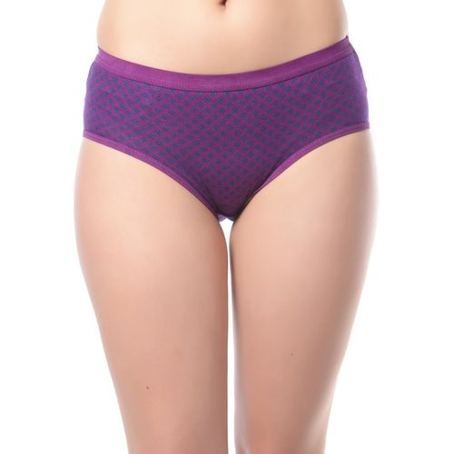 Lady Lyka Women's Hipster Multicolor Panty(Pack of 3)
