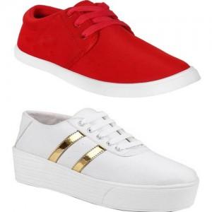 Super Matteress Combo(SR)-1062-993 Sneakers For Women(Multicolor)