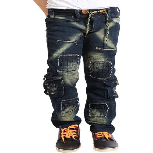 AD & AV Regular Boy's Dark Blue Jeans