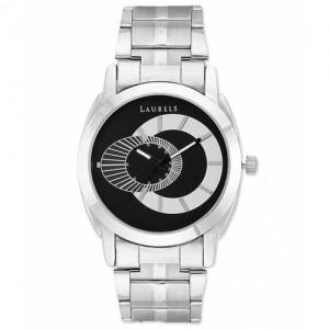 Laurels Original Lo-Polo-702 Silver Bracelet Analog Watch