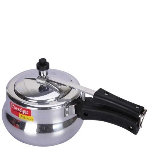 Prestige Nakshatra Plus Virgin Aluminium Pressure Cooker Handi, 3 Litres ( Gas, Stove Cooking)