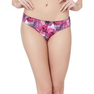 Amante Women Pink Bikini Briefs PAN28002