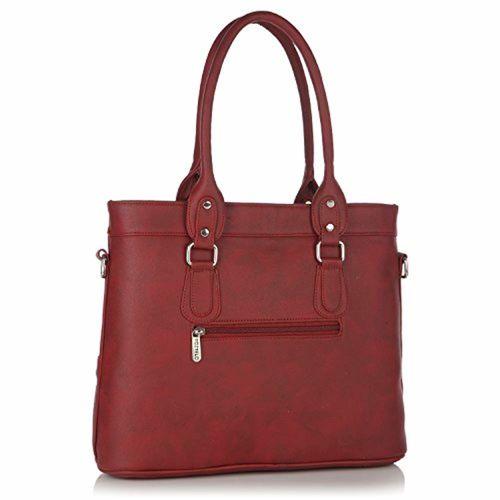 Fostelo Multicompartment Women's Handbag (Maroon)