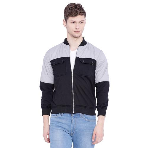 Campus Sutra Grey Casual Jacket