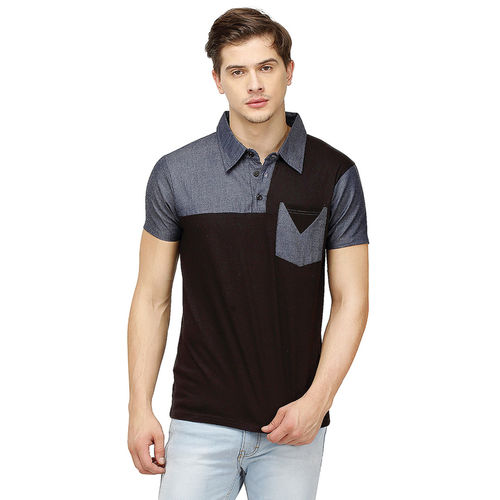 Campus Sutra Men Polo Neck Tshirts