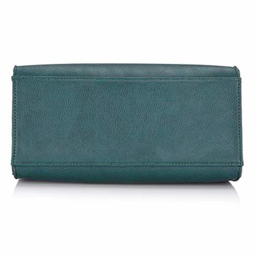 Caprese Monna Women's Satchel (Emerald)