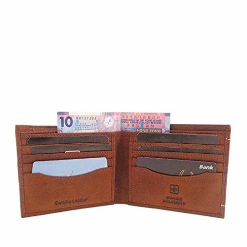 Swiss Military Brown Men's Wallet (LW26))
