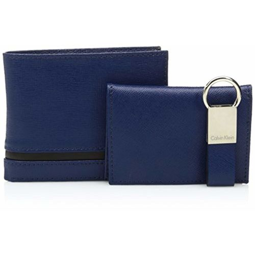 Calvin Klein Men's Passcase and Key Fob