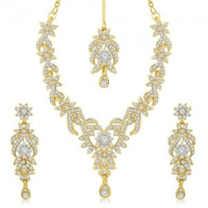 Sukkhi Gold Plated Alloy Necklace Set