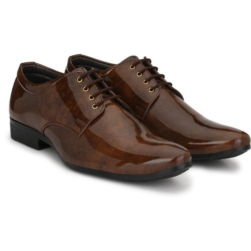 MILESWALKER Lace Up For Men(Brown)