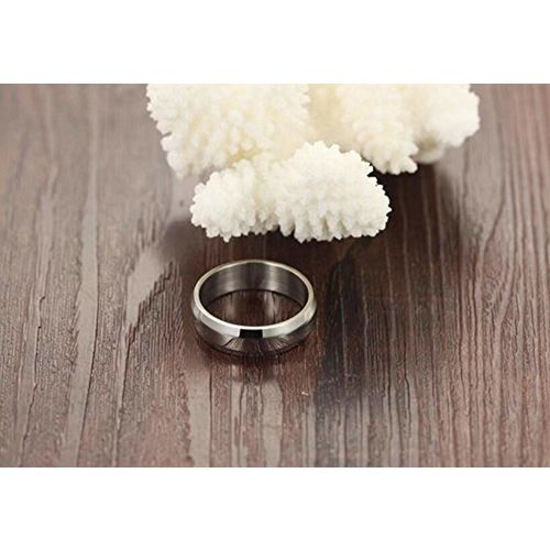Via Mazzini Stainless Steel With Swiss Crystal Proposal Couple Rings For Girls And Boys (Ring0257)