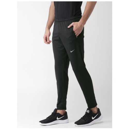 Nike Men's Black Polyester Track pants