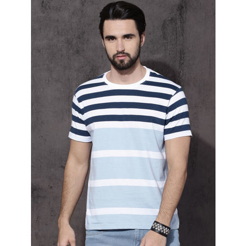 abd37ba3 Buy 29K Men's Digital Print Multicolor Round Neck T-shirt online ...