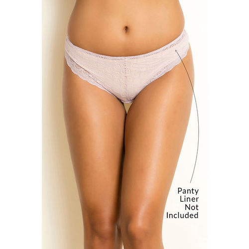 39c556a7a46f Buy Zivame Mid Rise Bikini Panty - Pink online   Looksgud.in