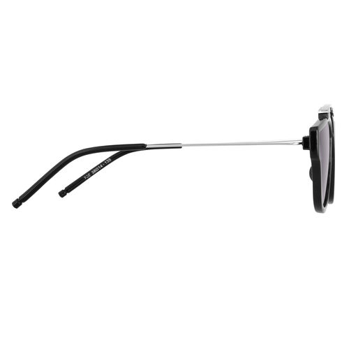 Code Yellow UV Protection Grey Wayfarer Sunglasses For Women