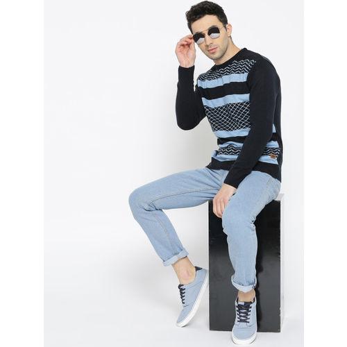 Roadster Men Blue Slim Fit Mid-Rise Clean Look Jeans